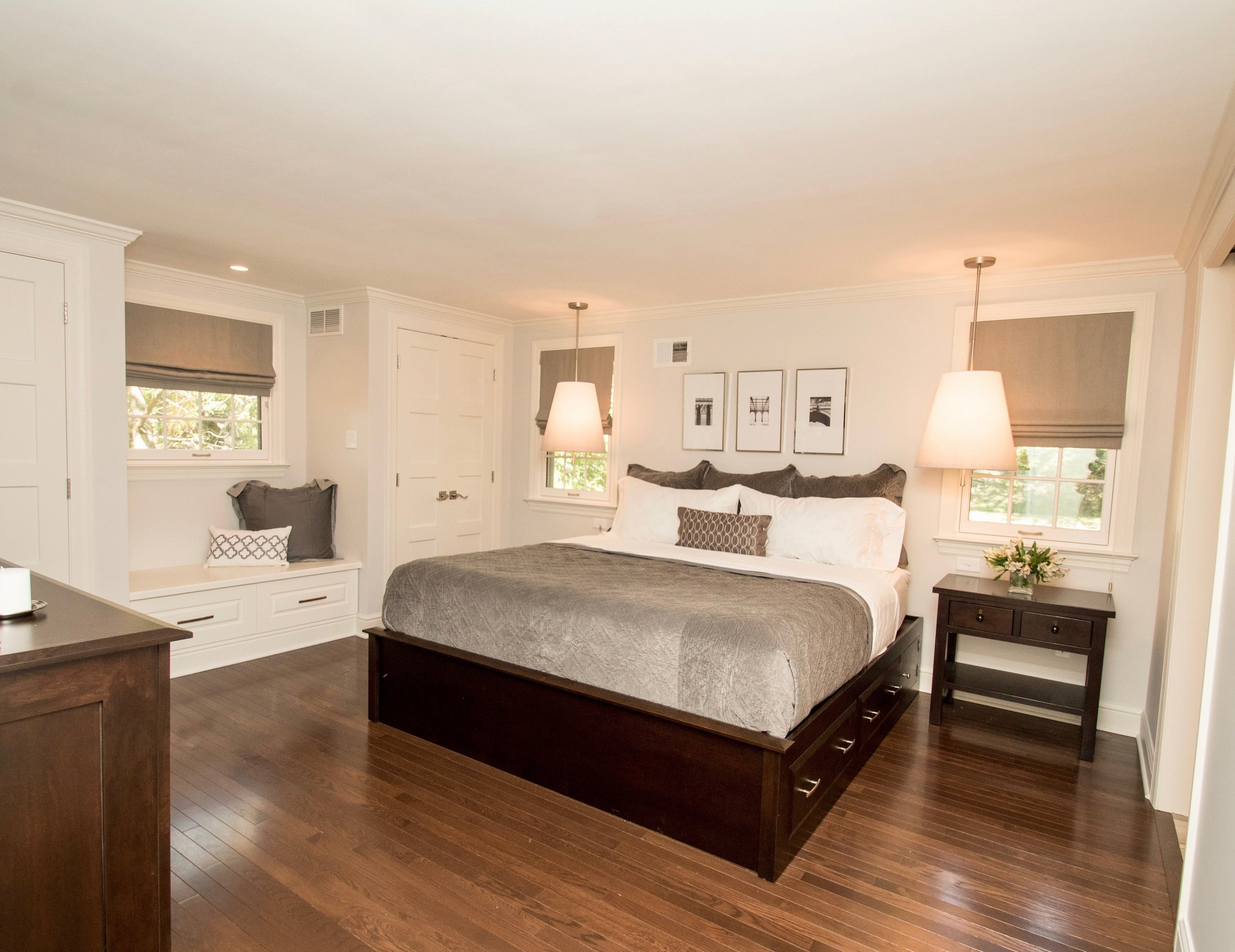 bedroom remodel in PA by the Blackwood Group