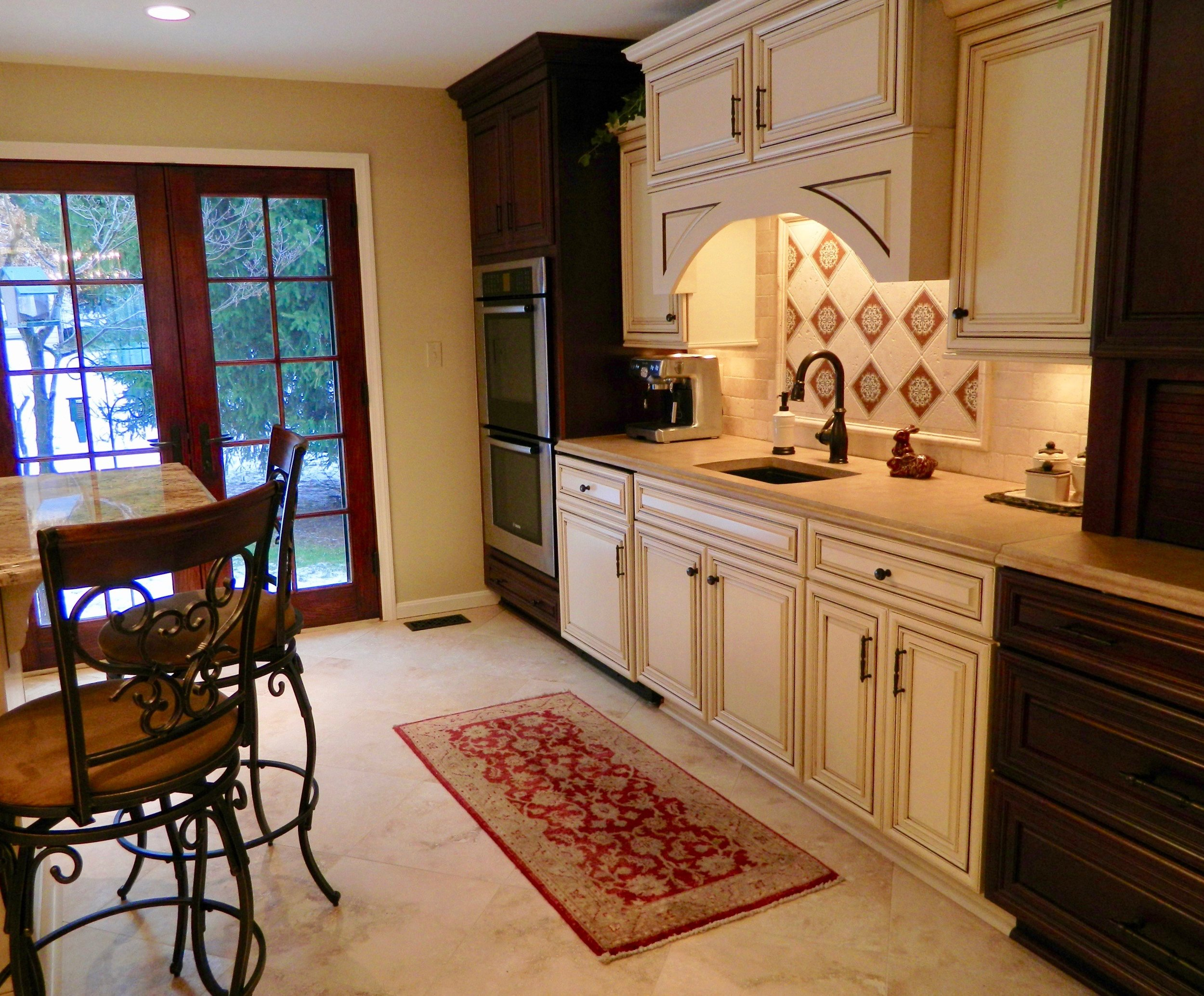 Kitchen remodel in PA by the Blackwood Group
