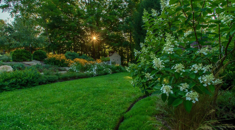 Landscape Design project in Ligonier by The Blackwood Group