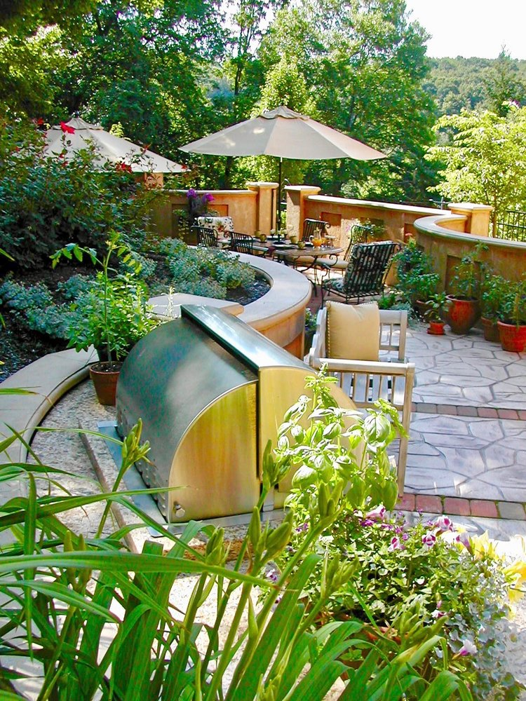 Landscape Design project in Greensburg, PA by The Blackwood Group