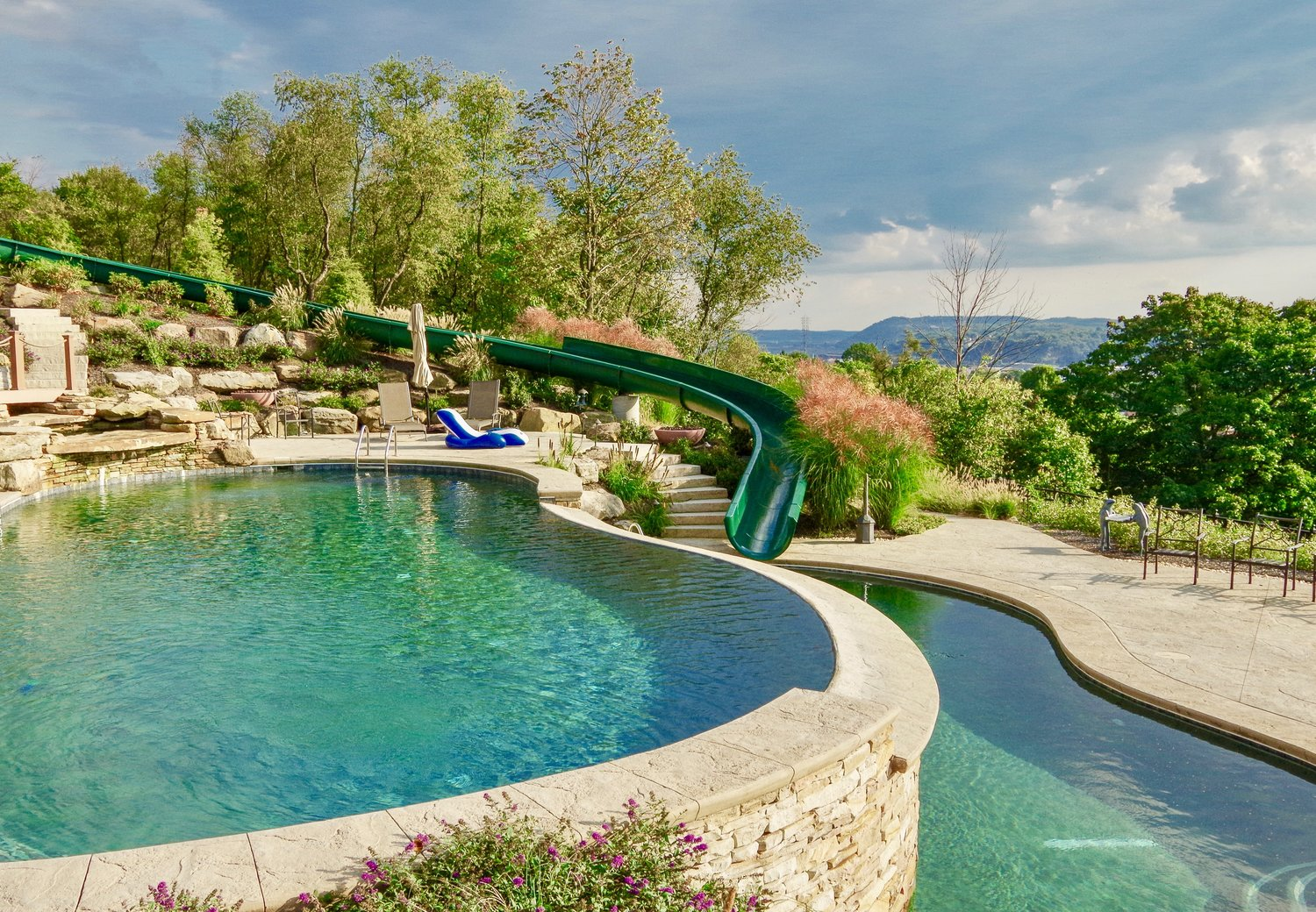 The Blackwood Group Swimming pool Project in Beaver Valley, PA