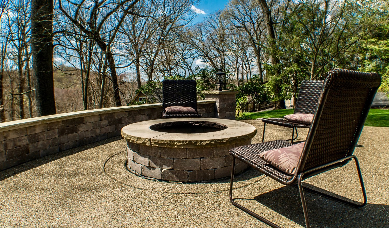 The Blackwood Group Landscape Design Project in Heights of Sewickley, PA