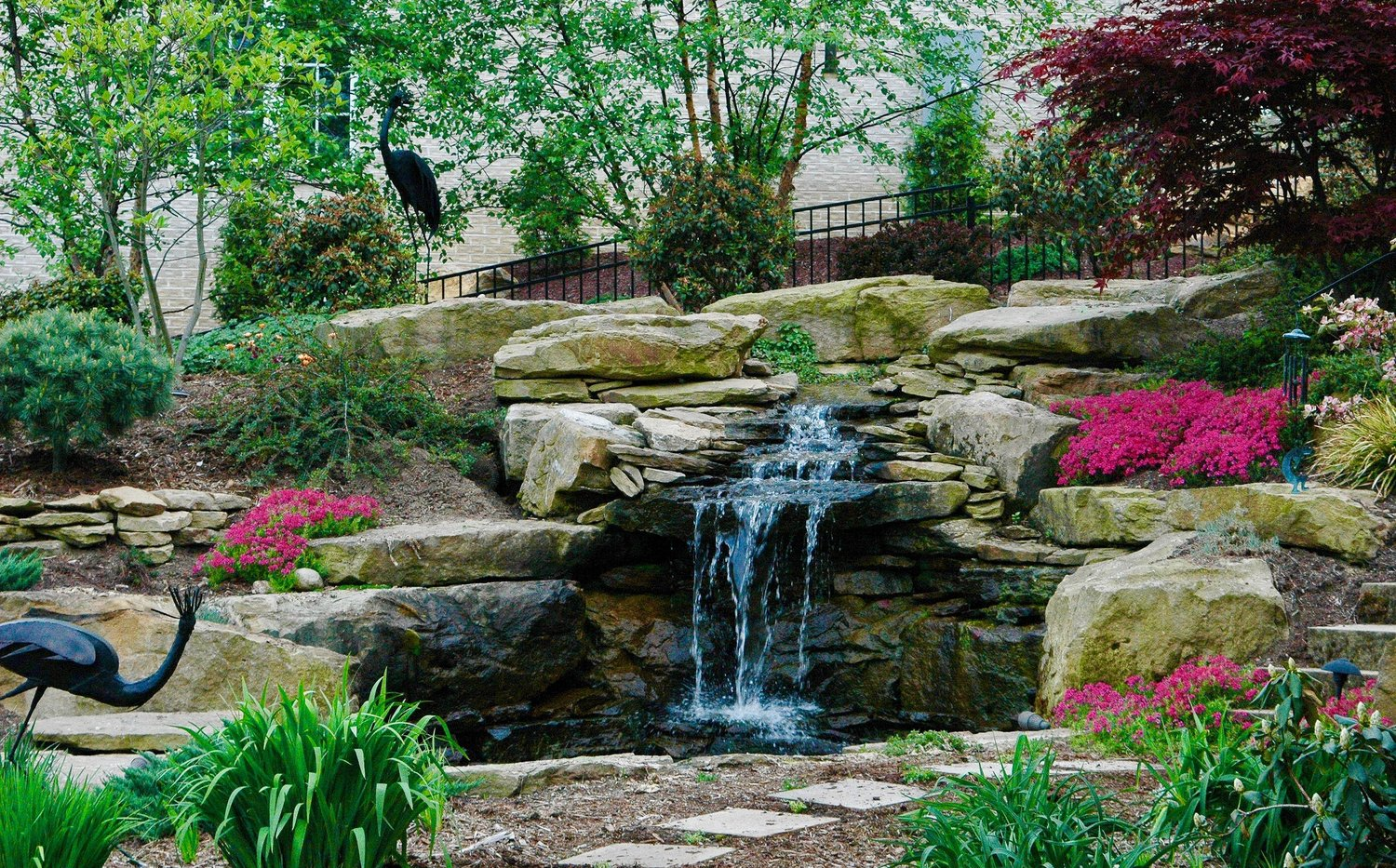 The Blackwood Group Landscape Design Project in Southpointe, PA