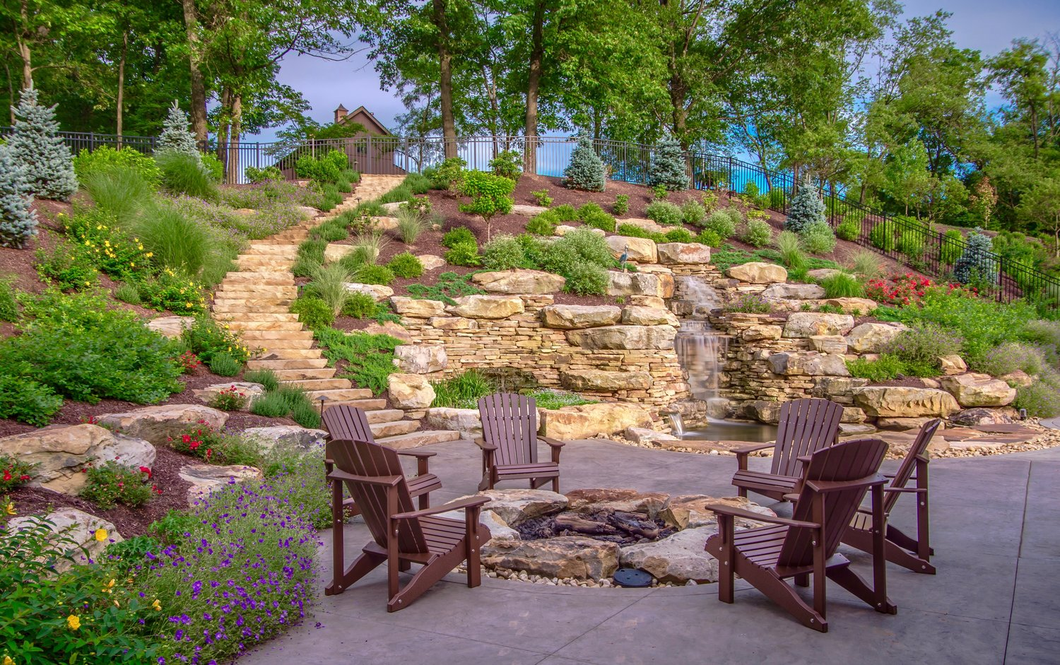 Water Features by The Blackwood Group in PA