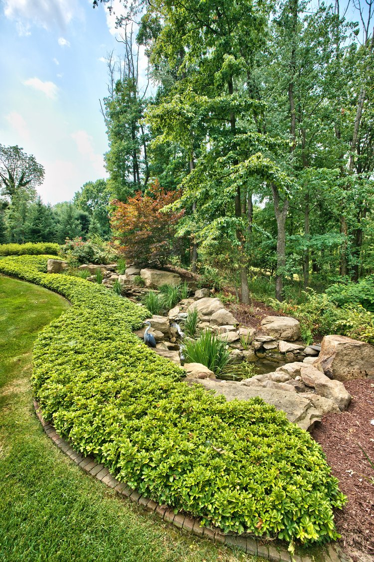 Plantings landscape design in PA by the Blackwood Group