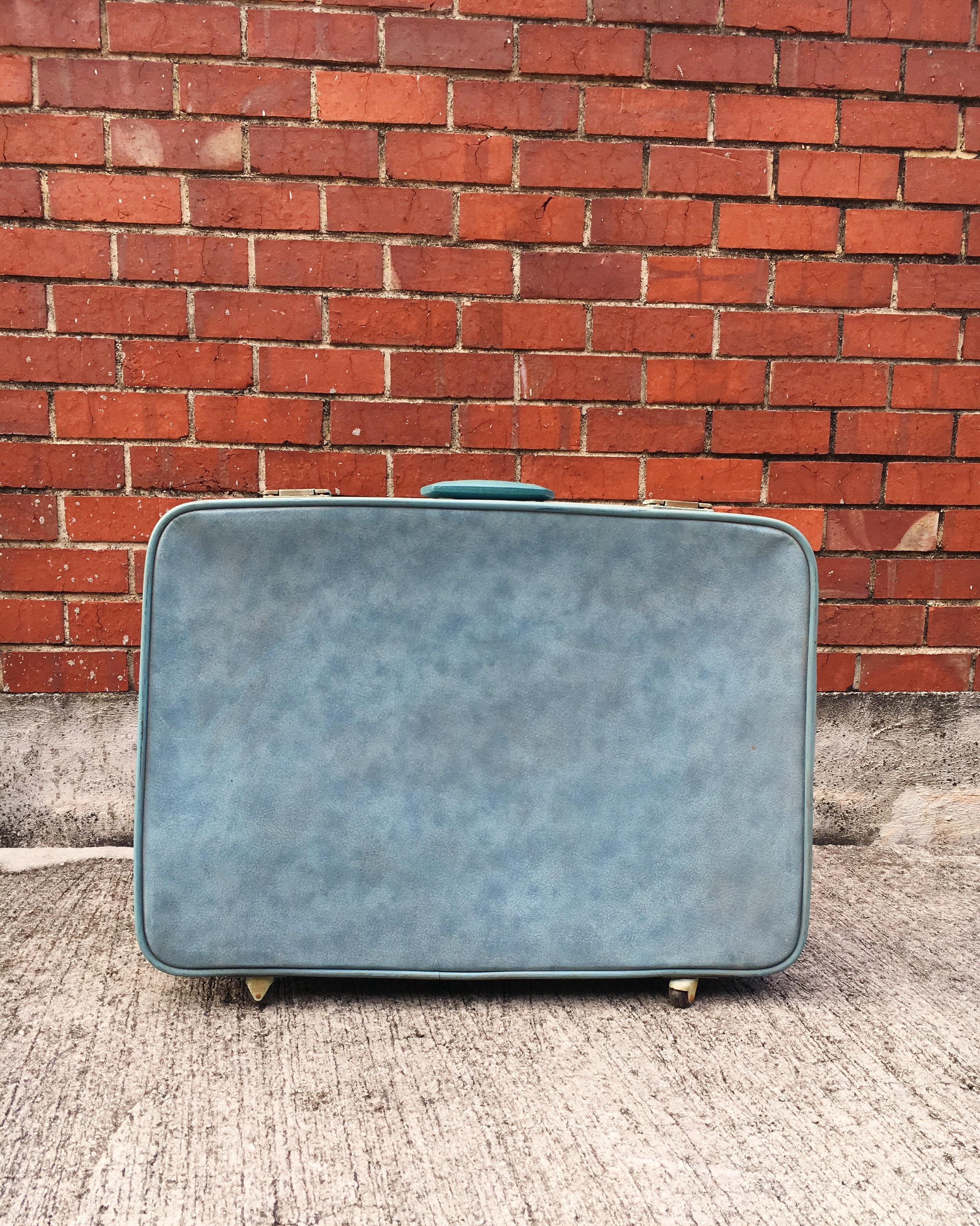 S04 Pale Blue Suitcase