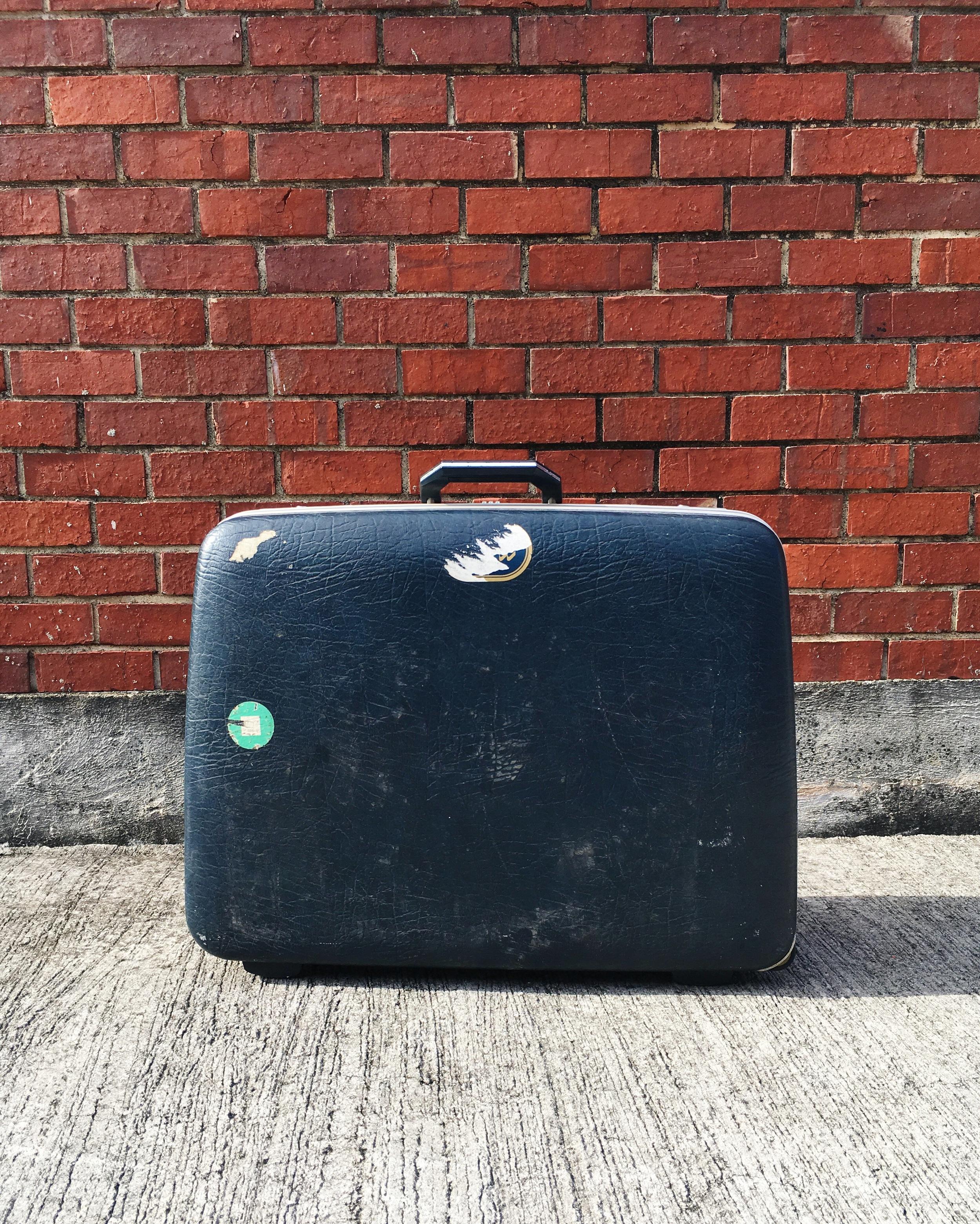 S03 Navy Blue Suitcase