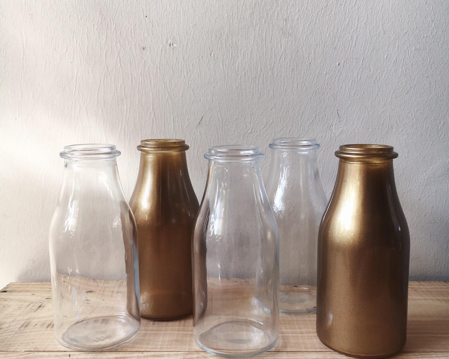 G05 Milk Glass Bottles