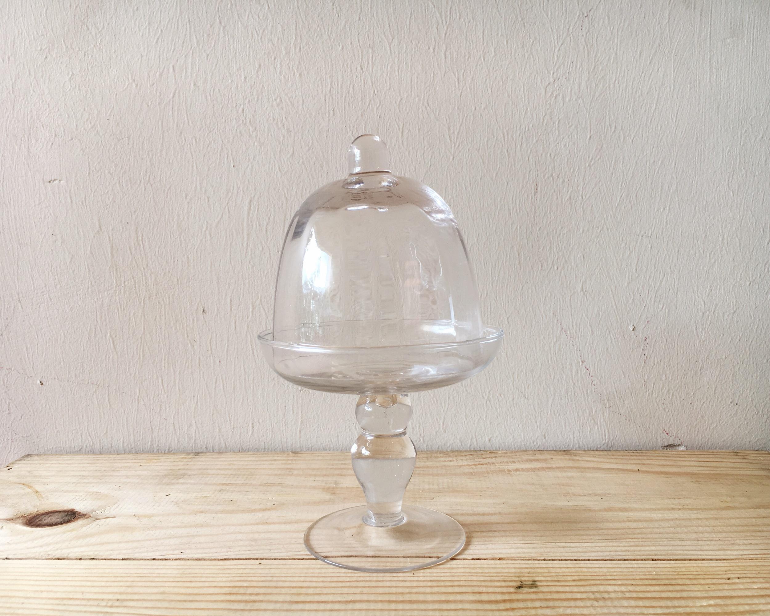 DT09 Small Glass Dessert Stand