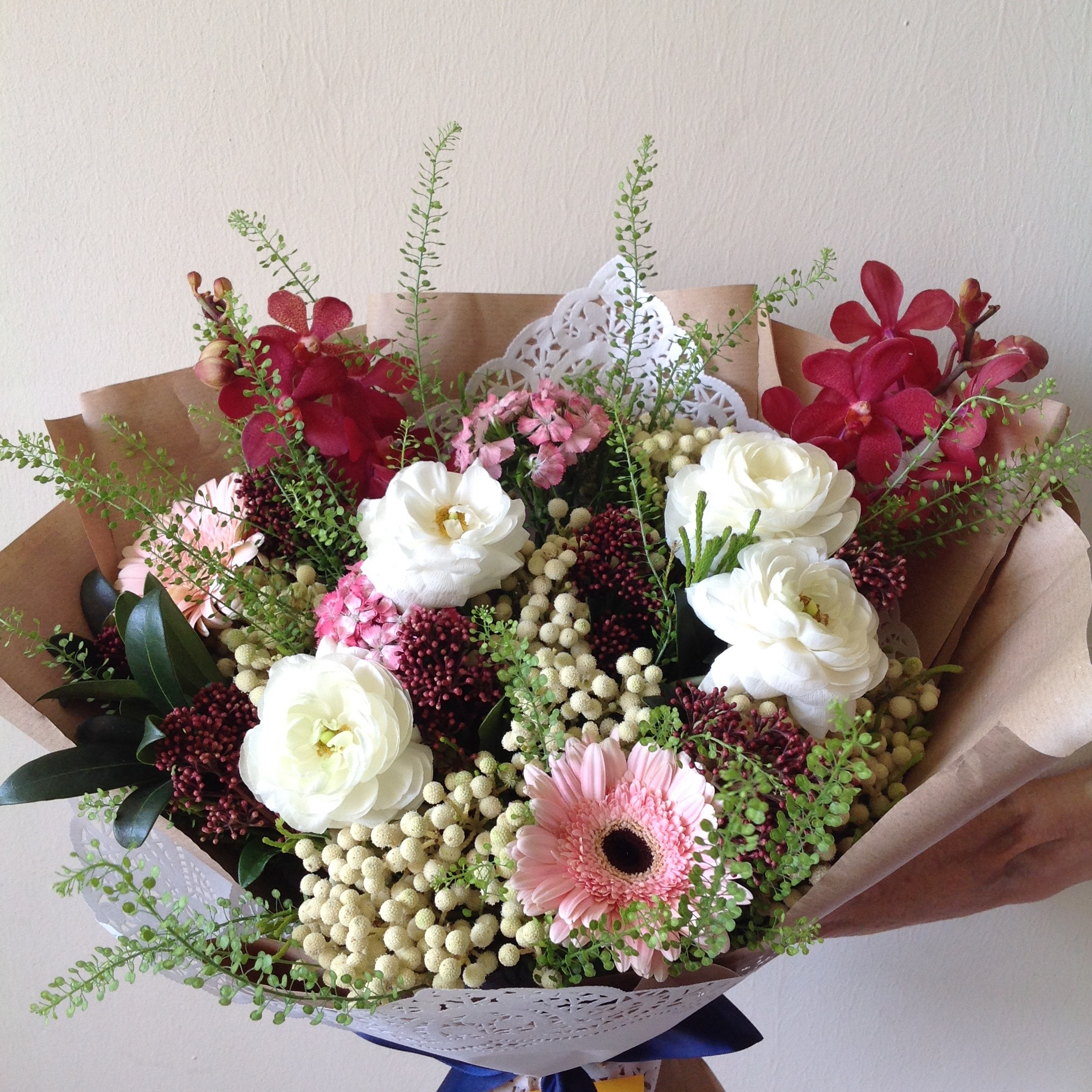 Type of flowers Bouquet