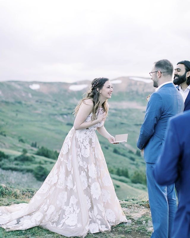 Love getting notes like this from our beautiful brides: ❤️💐🎉 Hey Katie. Just wanted to thank you again for doing my hair and makeup friday. A minute after I got out of the car at Loveland Pass, it POURED. It was about 45 degrees and the wind felt like a hurricane and my hair and makeup still looked amazing!! Thanks for saving the day...because I was convinced our pictures were going to be a mess 😂  Photo magic by: @breewoollyphoto . . . . . #makeup #makeupartist #mua #bridalhair #weddinghair #bridalmakeup #weddingmakeup #bridalmakeupartist #weddingmakeupartist #coloradowedding #coloradobride #mountainwedding #mountainbride #outdoorwedding #destinationwedding #elopementwedding #travelingmakeupartist #coloradomakeupartist #vailwedding #adventurouswedding #aspenwedding #denverwedding #bohobride #bohowedding #coloradoelopement #beautymakeup #coloradomakeupartist #buenavistawedding #buenavistamakeupartist