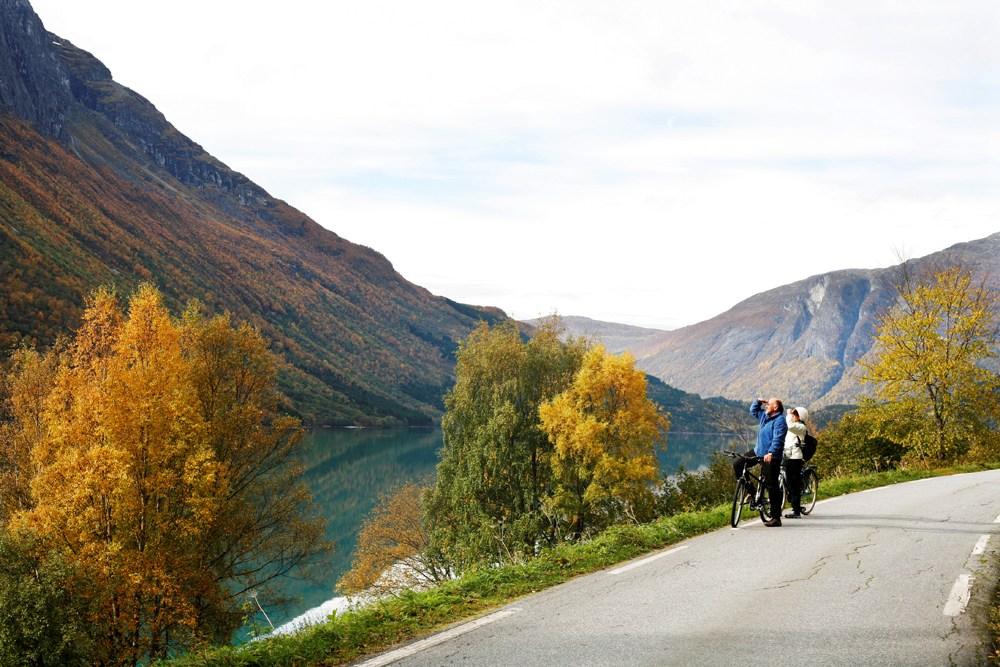 Sykkeltur i Lodalen