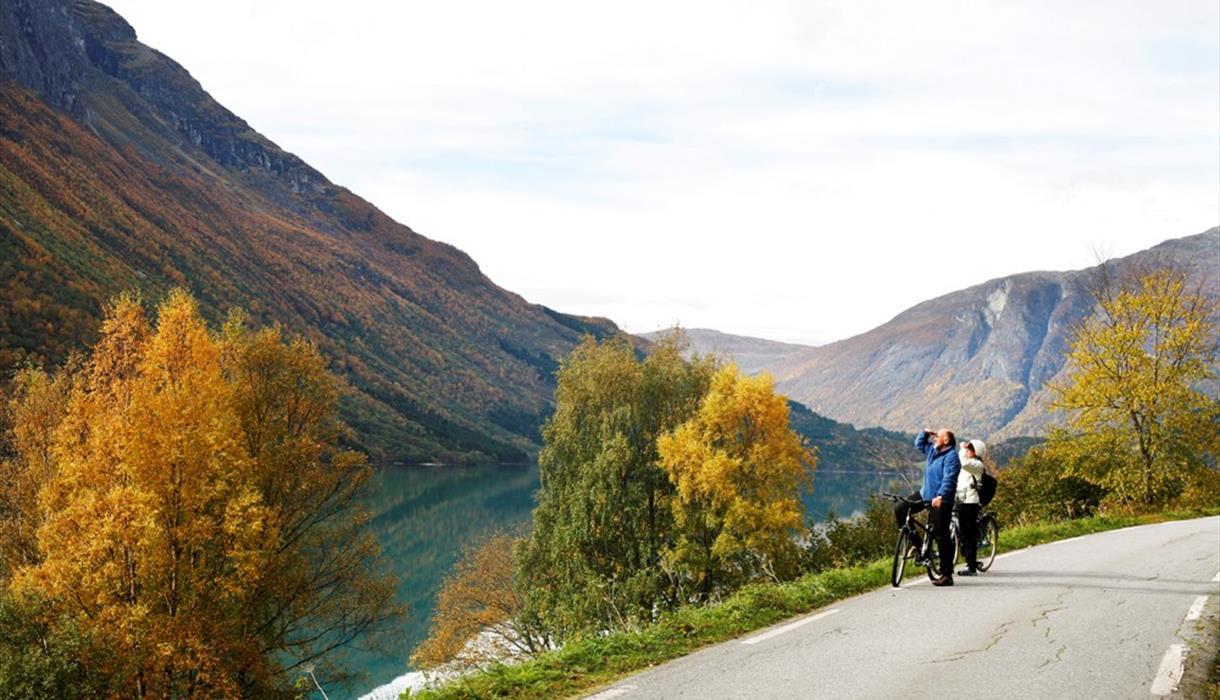 Sykkeltur i Lodalen.