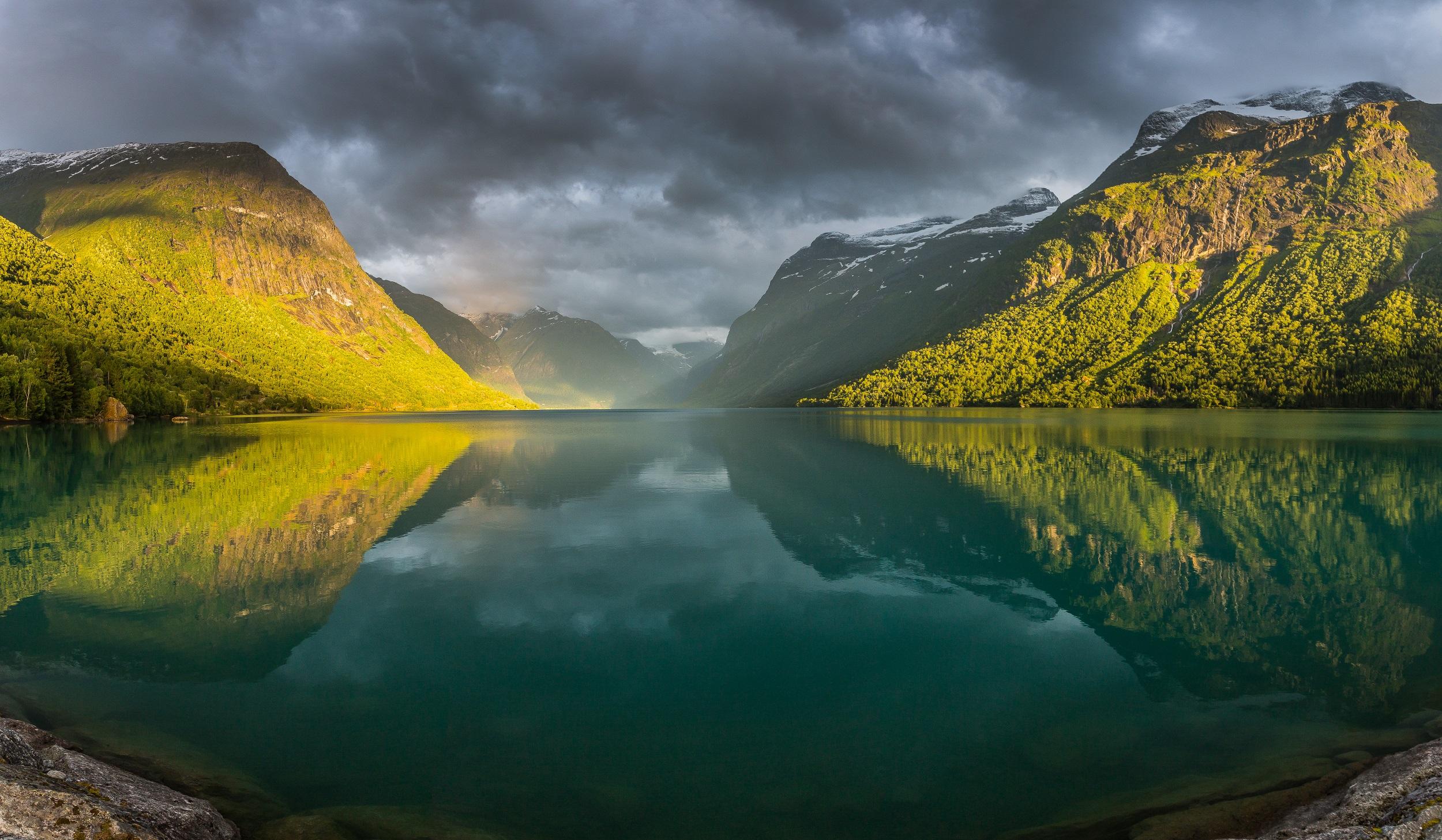 Lovatnet. Foto: Nordlandsblog/Fjord Norway
