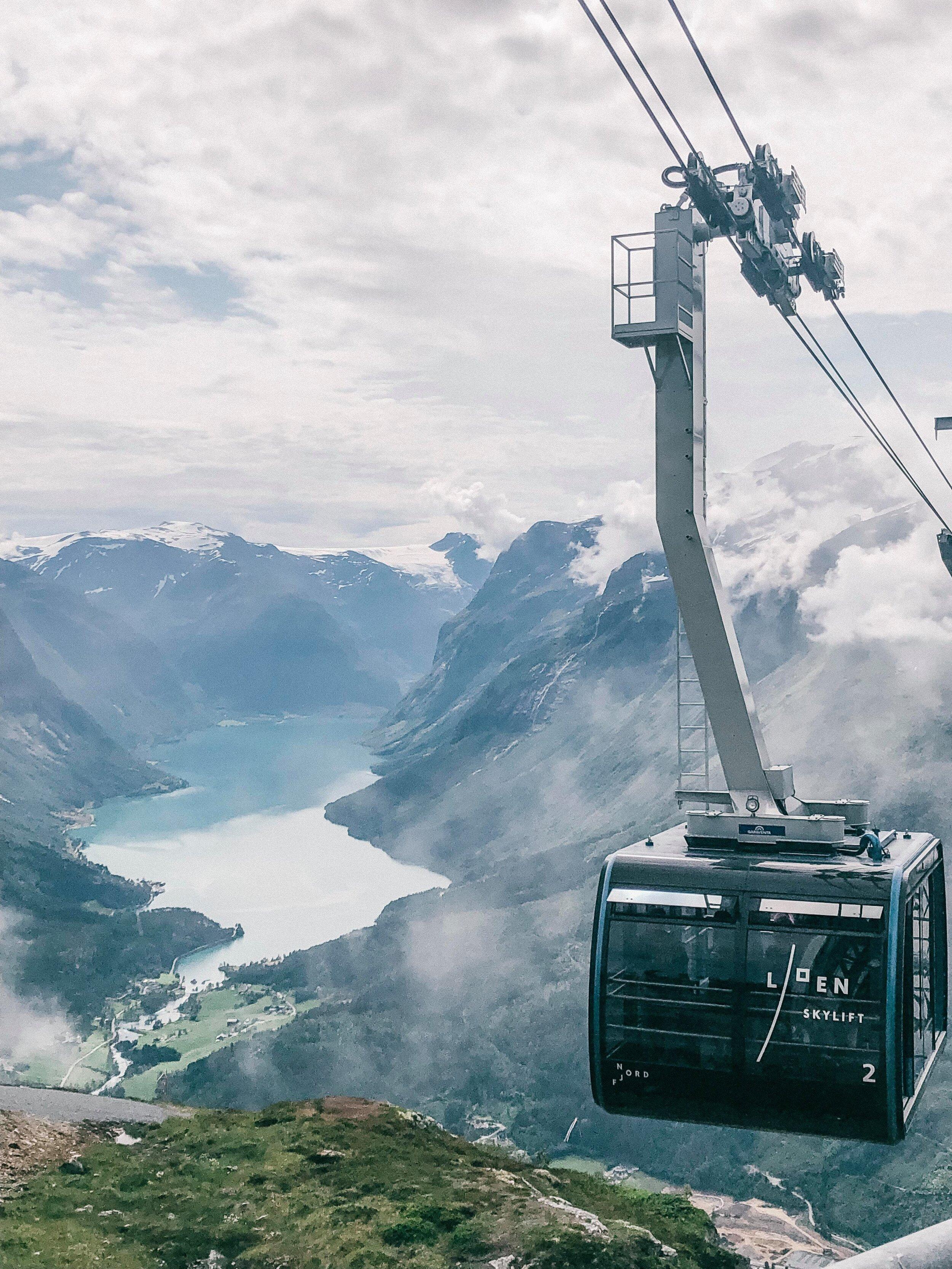 Loen Skylift. Foto: Sølvi Dybevold