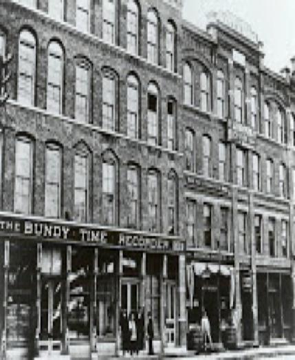 Bundy at 183, 185 Water Street