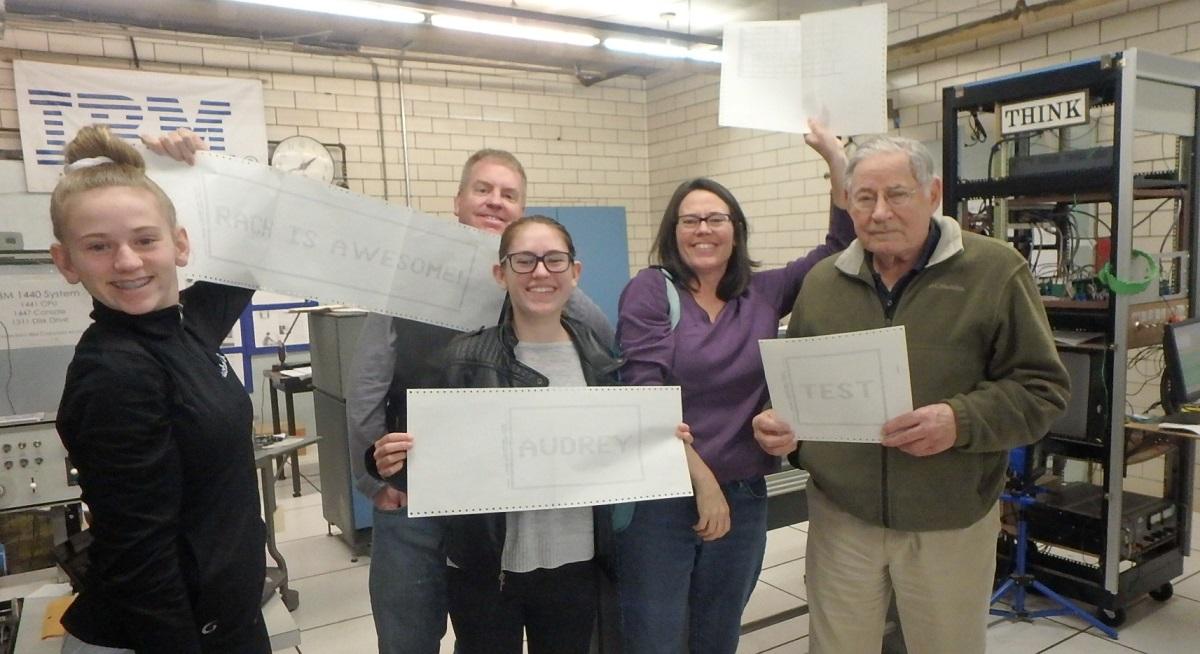 Family Fun at The VINtage IBM Computing Center