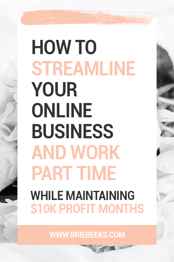 How to streamline your online business and work part time V1 60 Percent.png