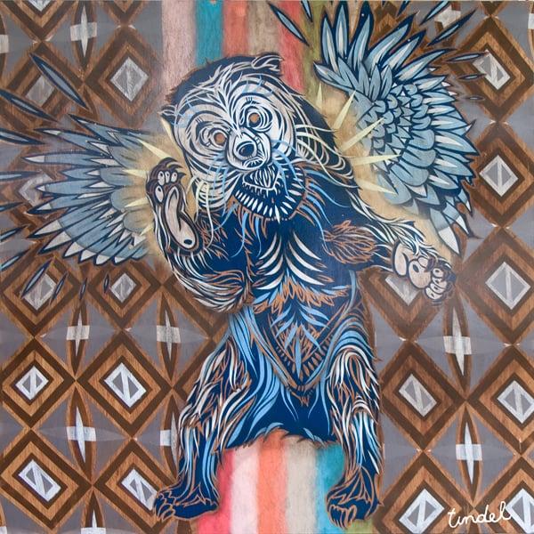Great Spirit Bear by TINDEL
