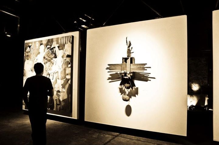 """""""Second Coming"""" exhibit. First exhibit at the goat farm arts center with The Creative Project ATL"""