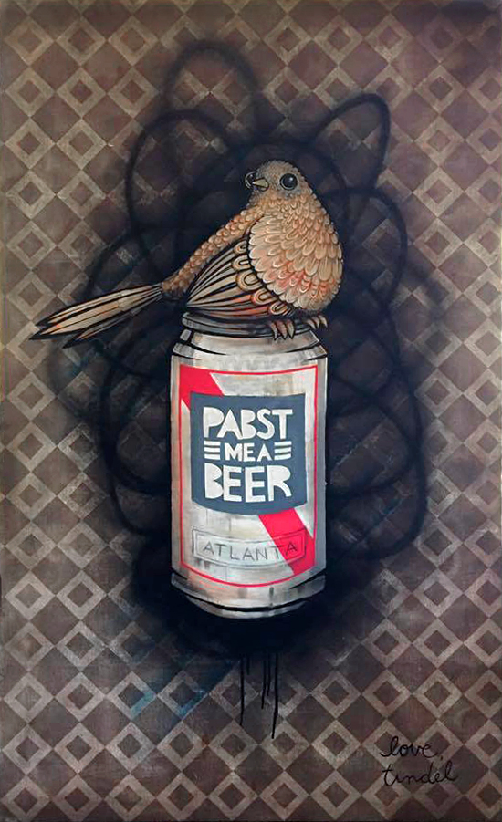 Dirty Bird on a PBR