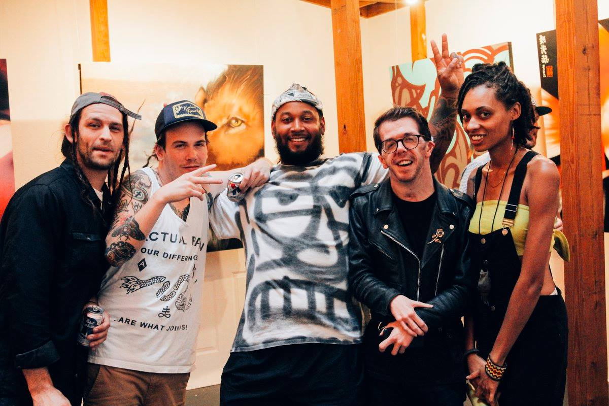 With  Talem Cowart ,  Tanner Wilson ,  Richard Montgomery ,  Barry Lee  and  Tash Nikol  at  Facet Gallery .