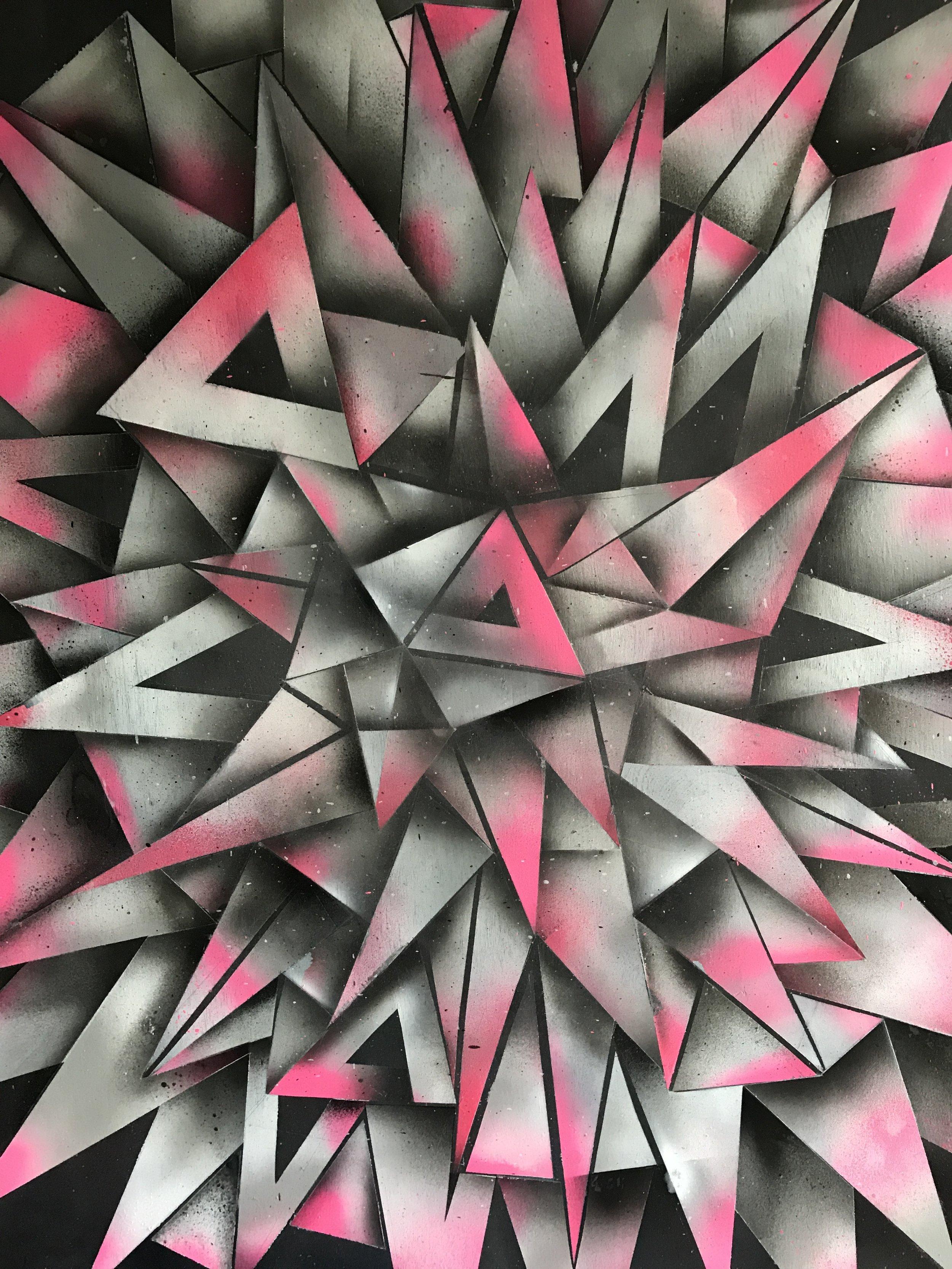 "Detail photo of ""Creative Hormone"" by John Tindel"