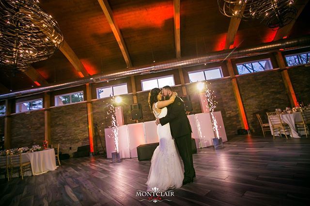 One more from Danielle and Adam`s wedding at the Stonehouse ! Check out the amazing sparkler show put on by POSH DJ`s!!!⠀ ⠀ Makeup : Melissa Daloia⠀ Venue : Stonehouse at Stirling Ridge ⠀ DJ: Austin from POSH DJS