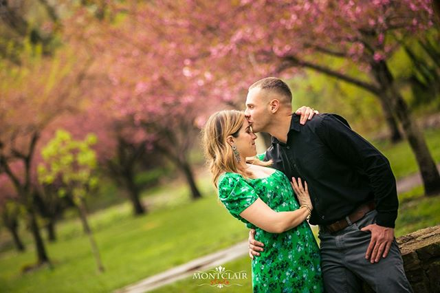 What a beautiful day for an engagement session !!! See more at www.montclairstudio.com