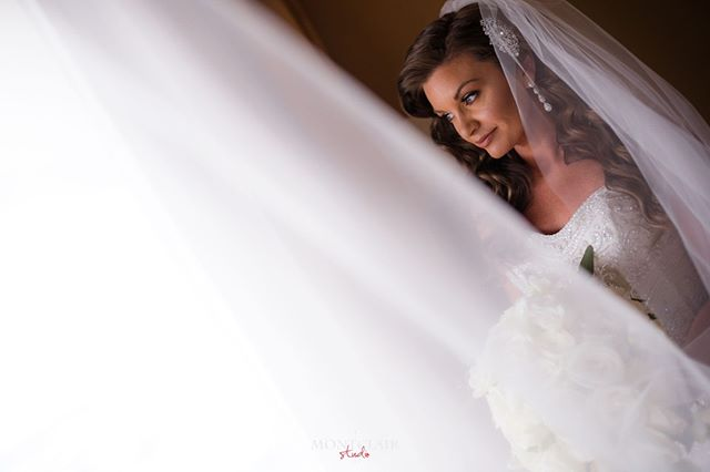 Check out our beautiful bride Megan on her wedding day ! See more at www.montclairstudio.com