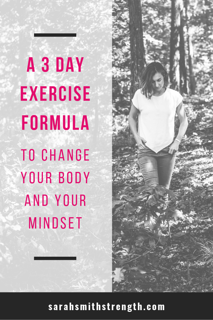 A Workout Formula to Change Body and Mind