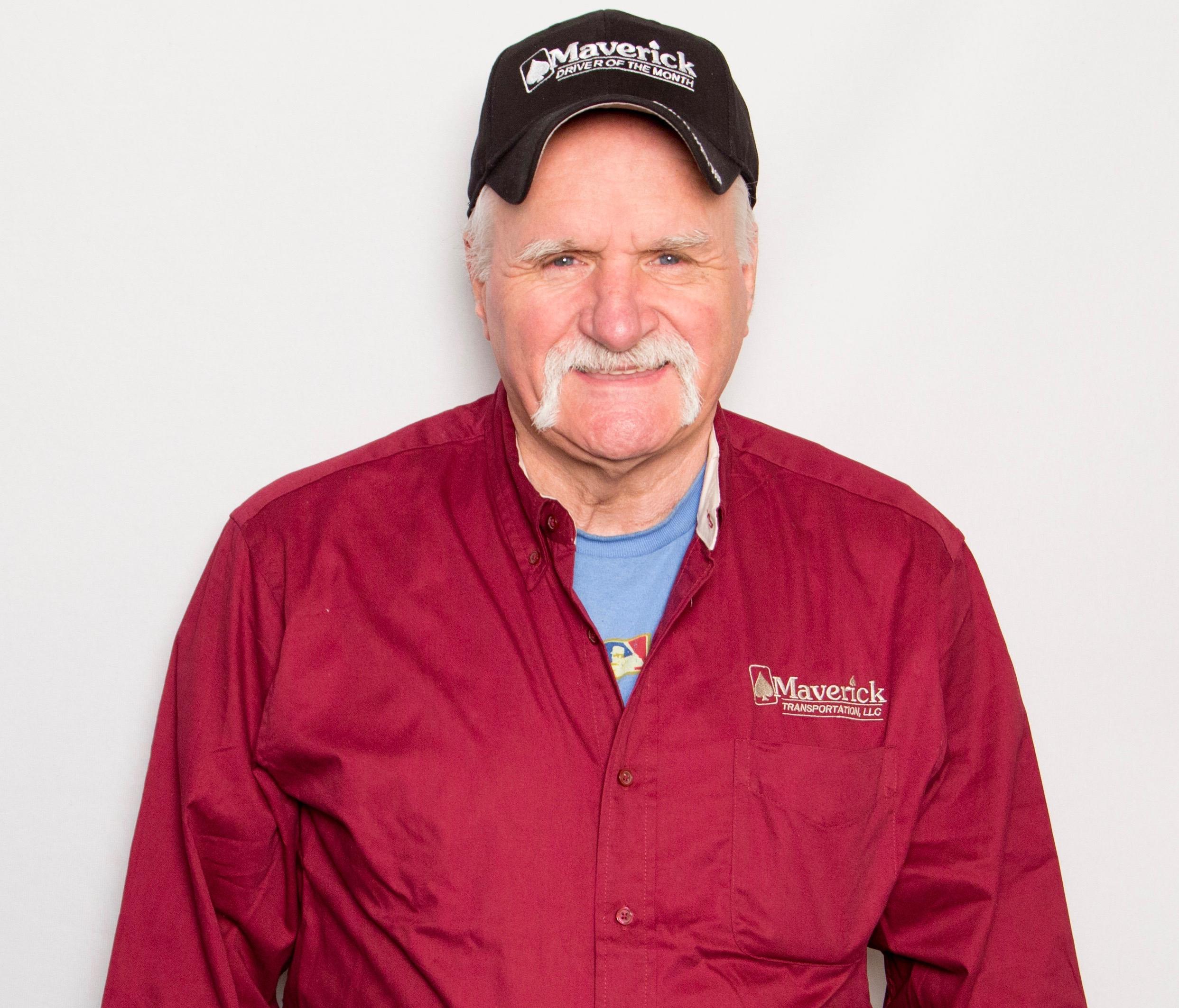 Maverick Driver and U.S. Army veteran Roger Wyble