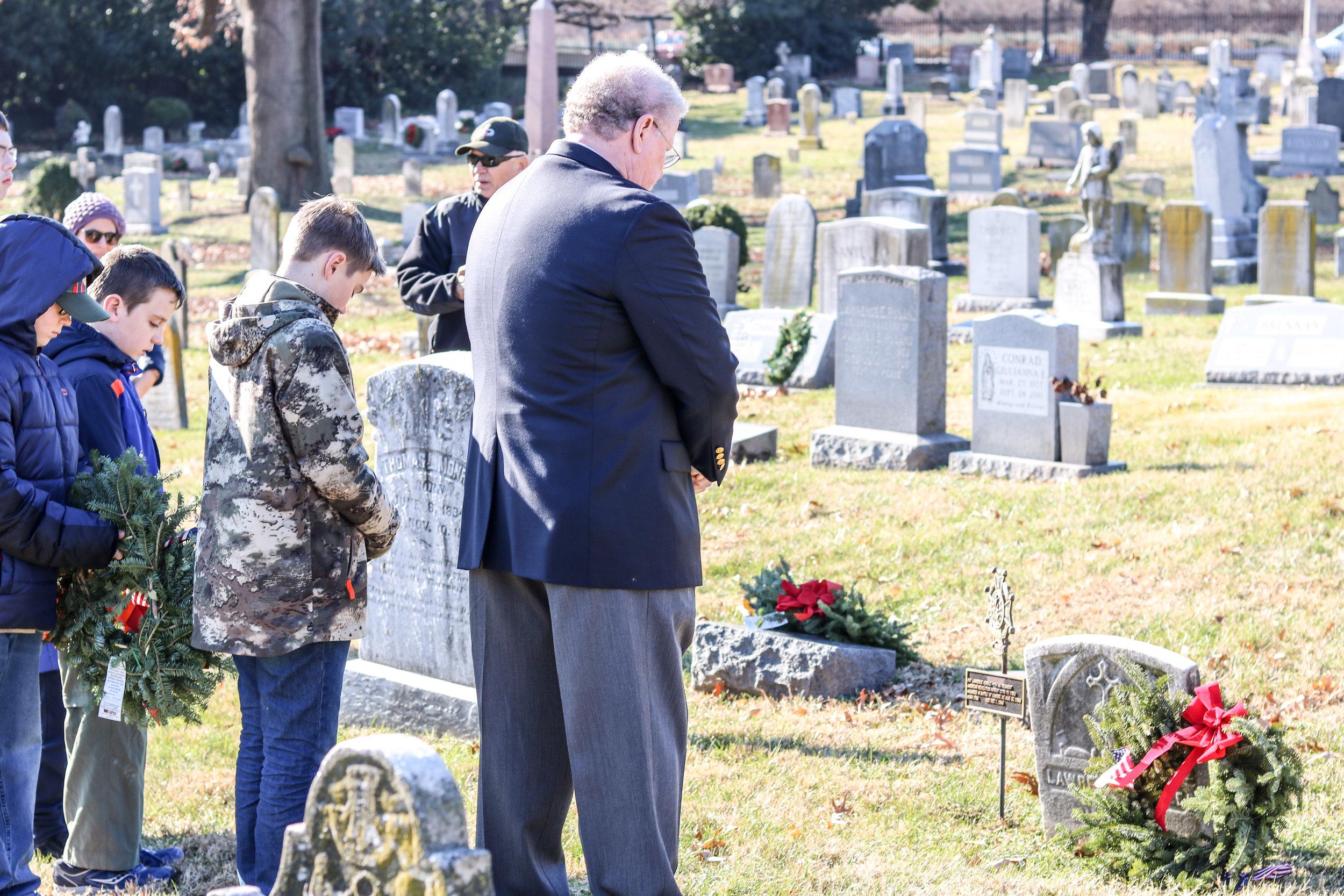 David Thomas at Hurdle's Grave.jpg