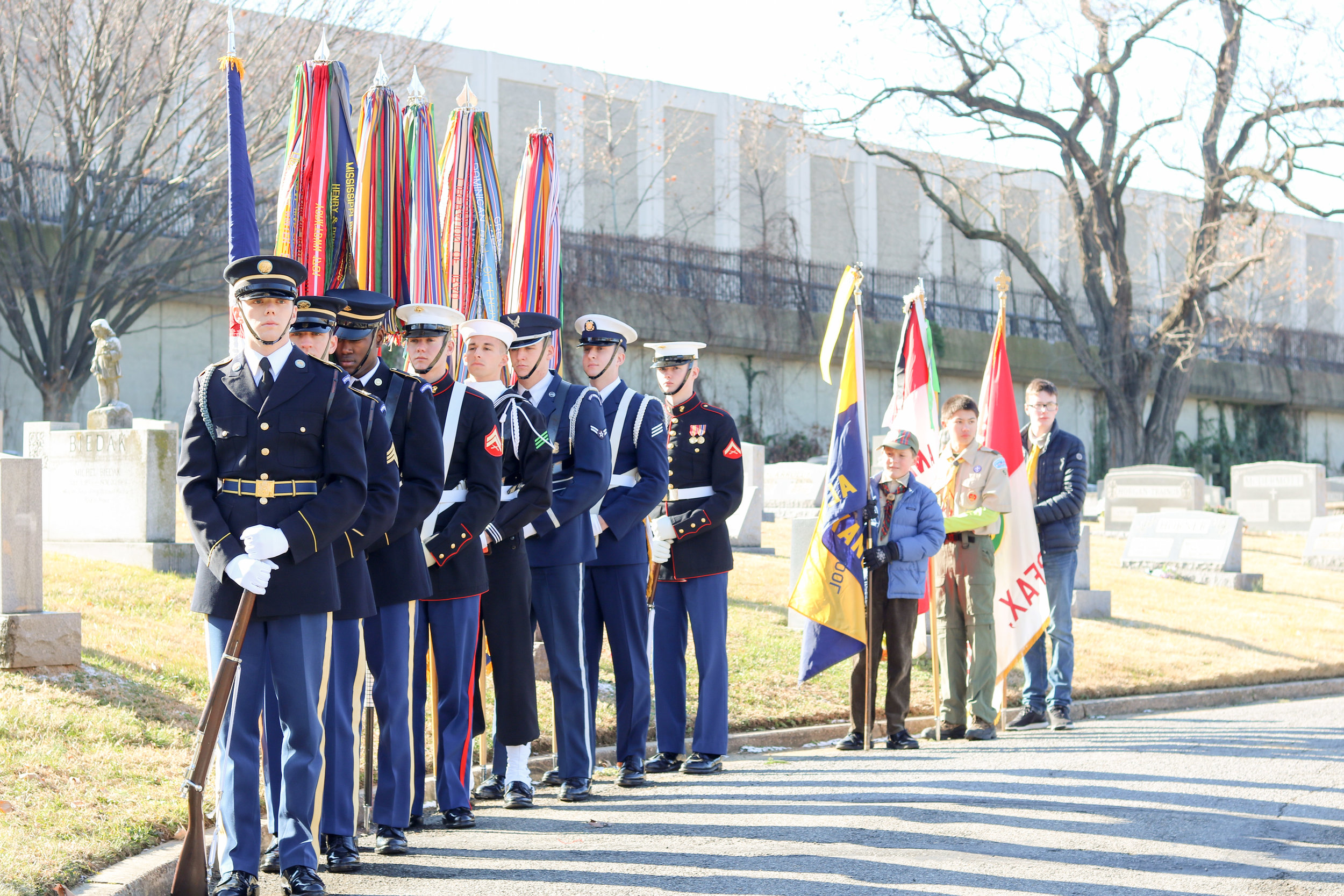 Joint Color Guard and Scouts.jpg