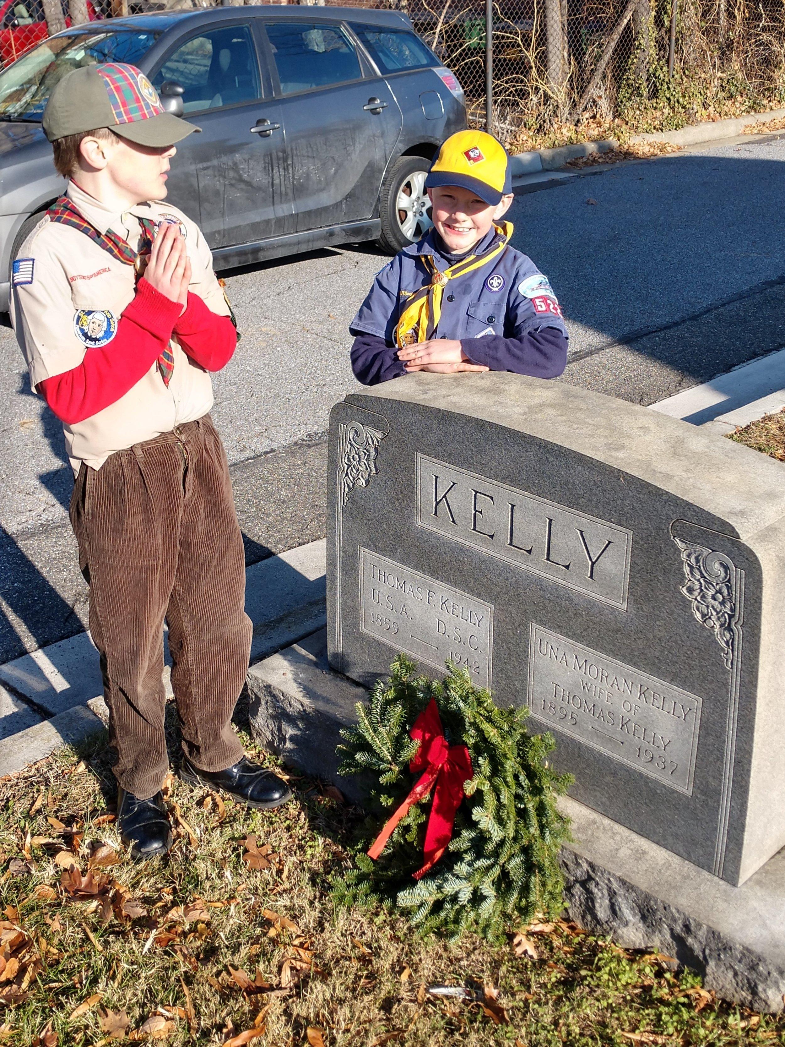Seamus and Eamonn Lay a Wreath 12-16-17.jpg