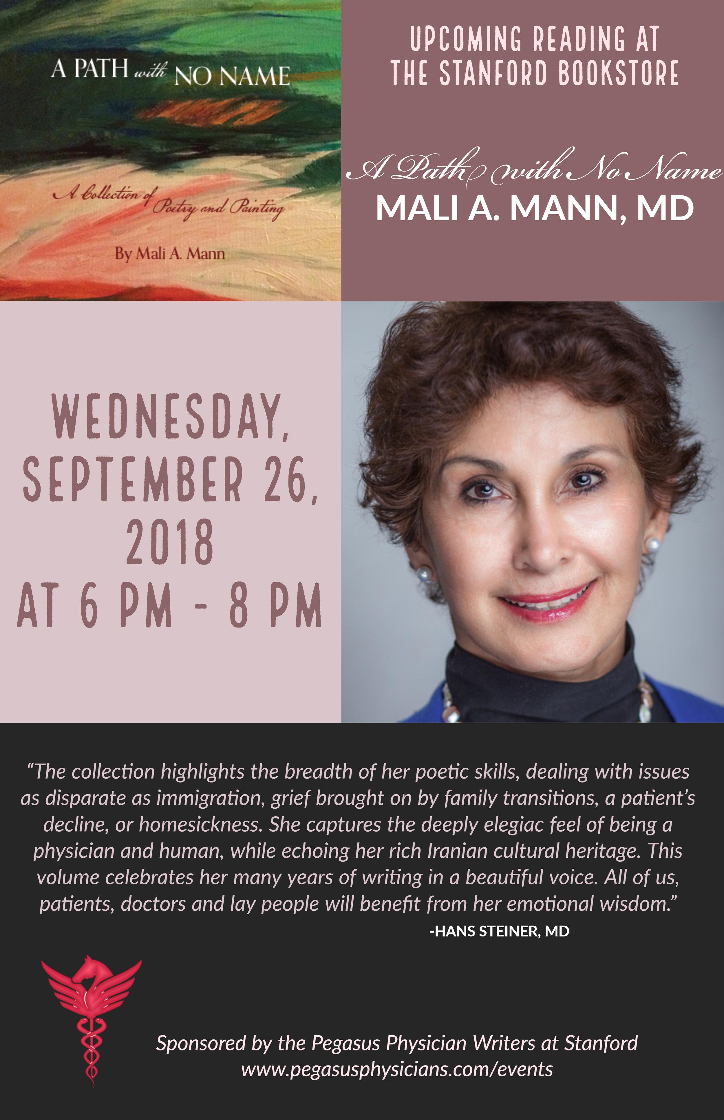 Sept 26, 2018 Bookstore Reading_Mail Mann.jpg