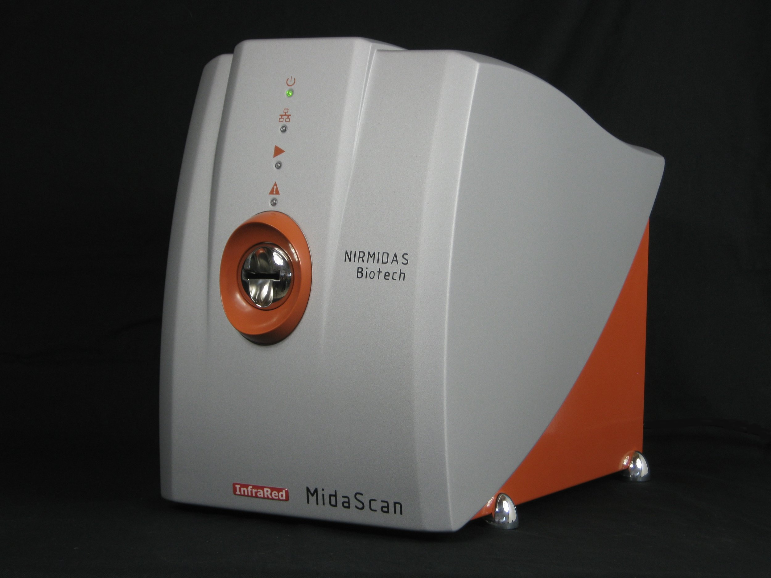 Nirmidas MidaScan-IR™ Dual Channel Scanner for imaging tissues, cells, and microarrays