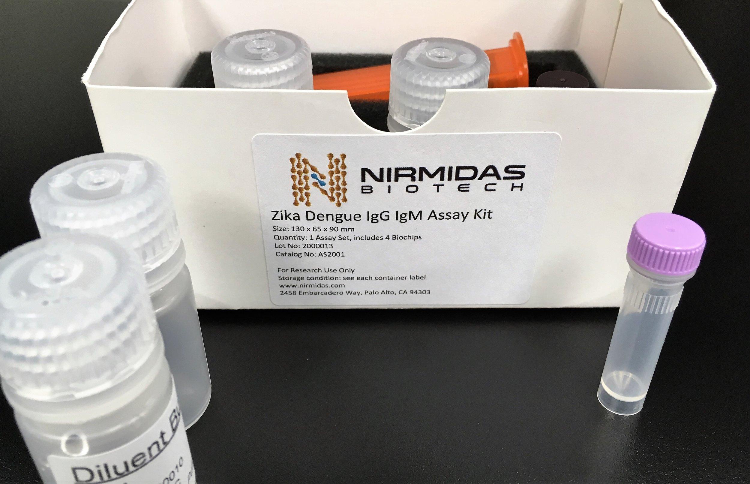 Zika/Dengue Assay Kit Example