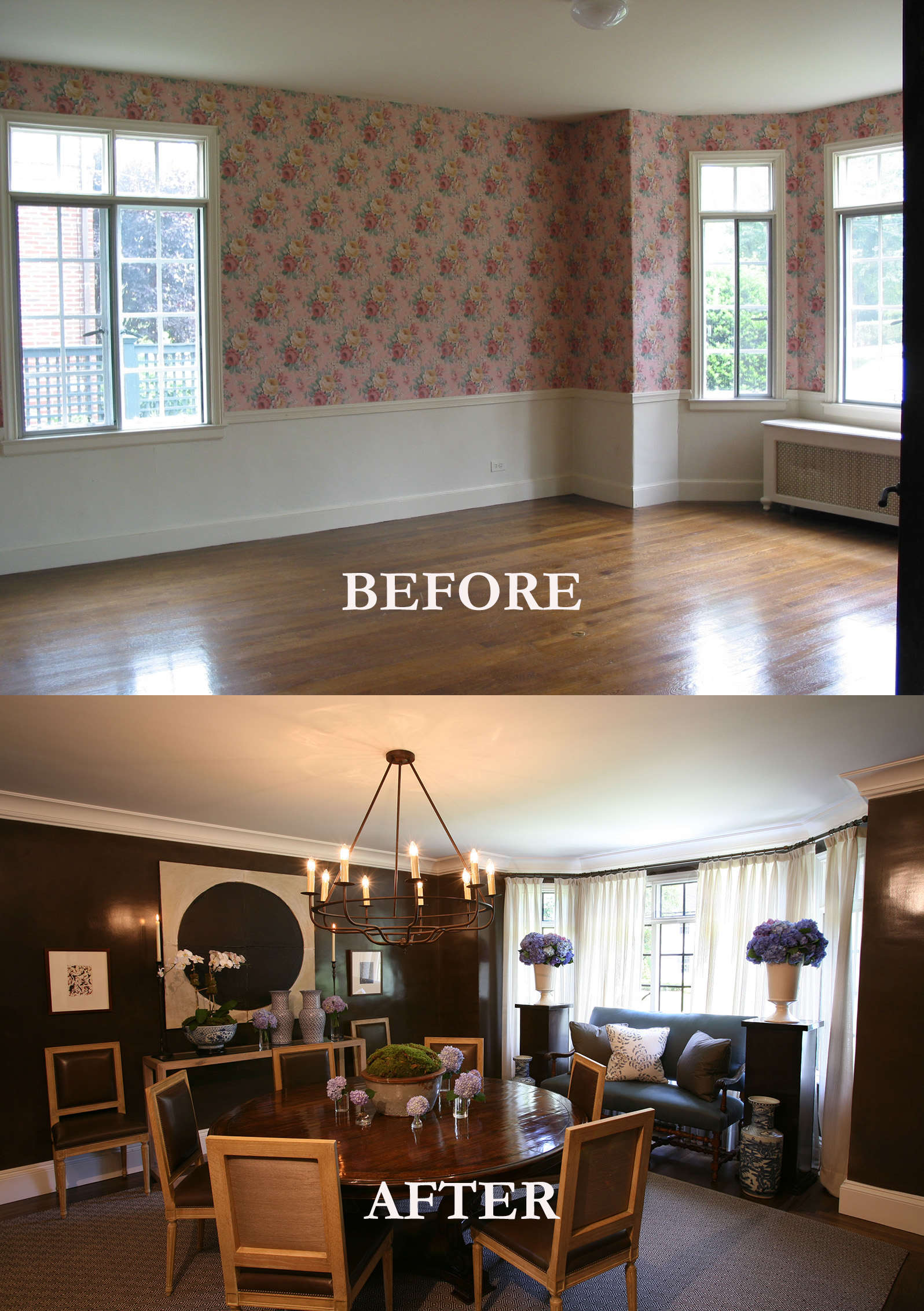 Rod Winterrowd | Before and After | Bronxville, NY | Dining Room