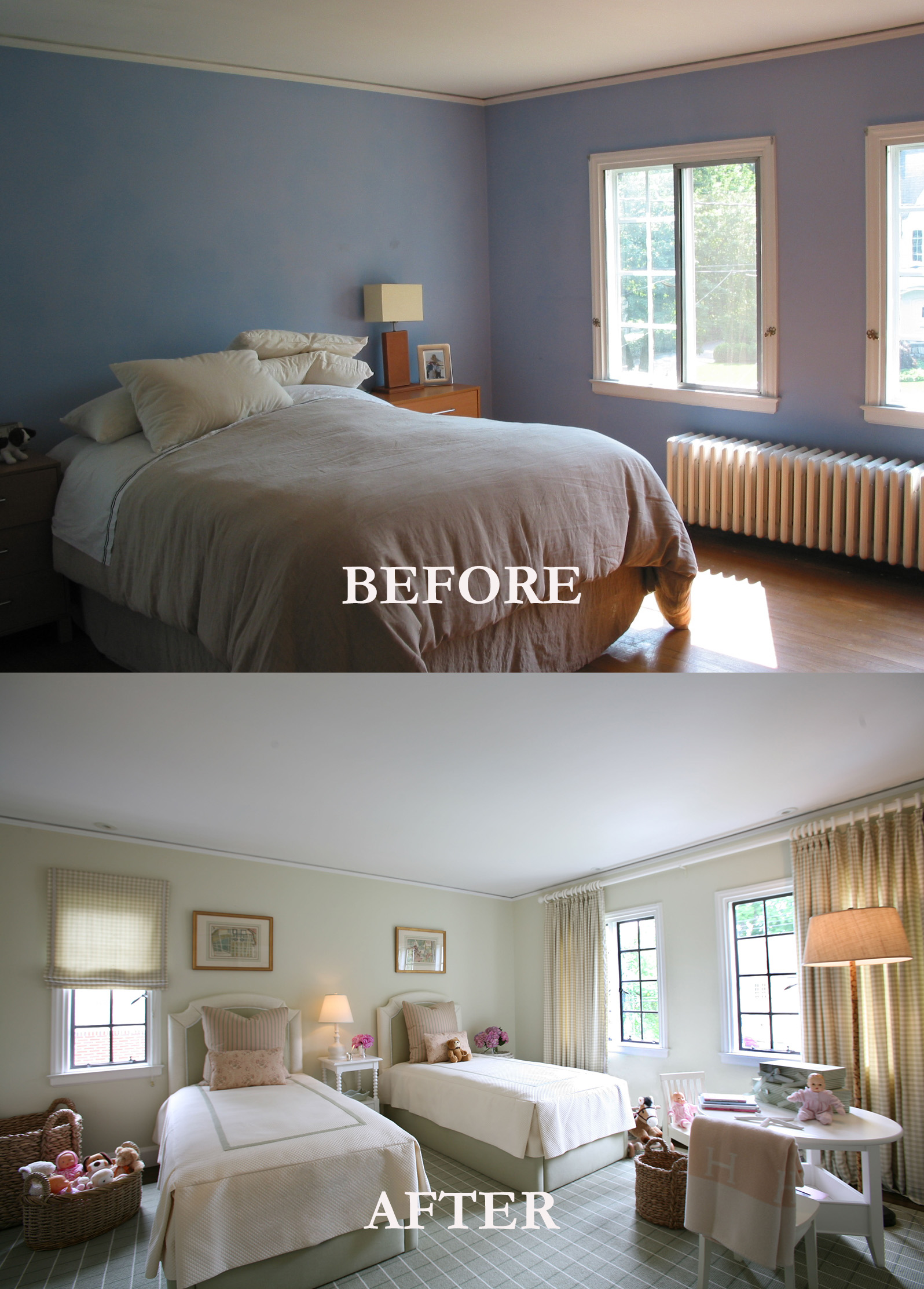 Rod Winterrowd | Before and After | Bronxville, NY | Kids Room