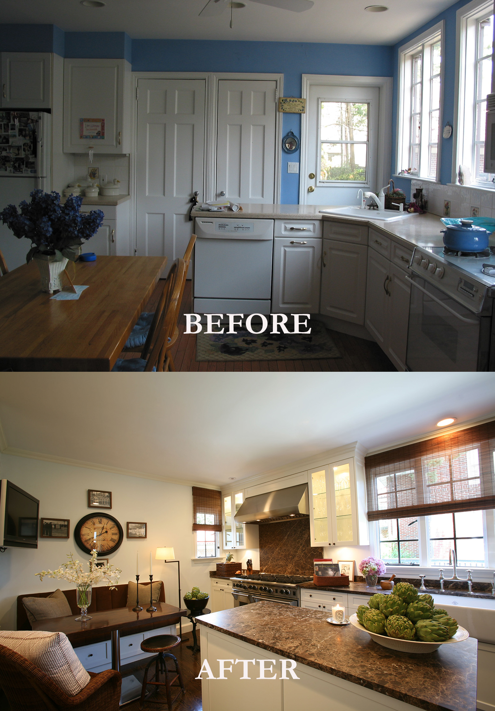 Rod Winterrowd | Before and After | Bronxville, NY | Kitchen