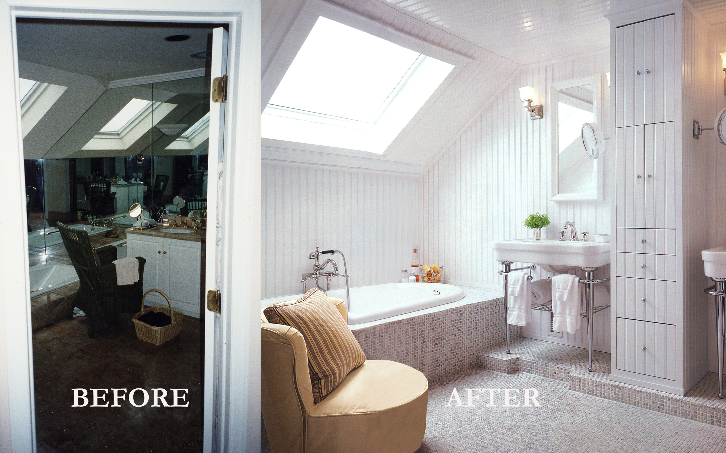 Rod Winterrowd   Before and After   Southampton, NY   Bathroom