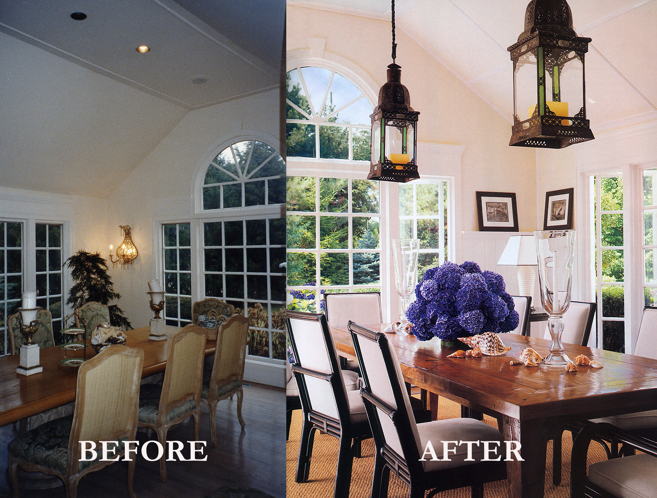 Rod Winterrowd   Before and After   Southampton, NY   Dining Room
