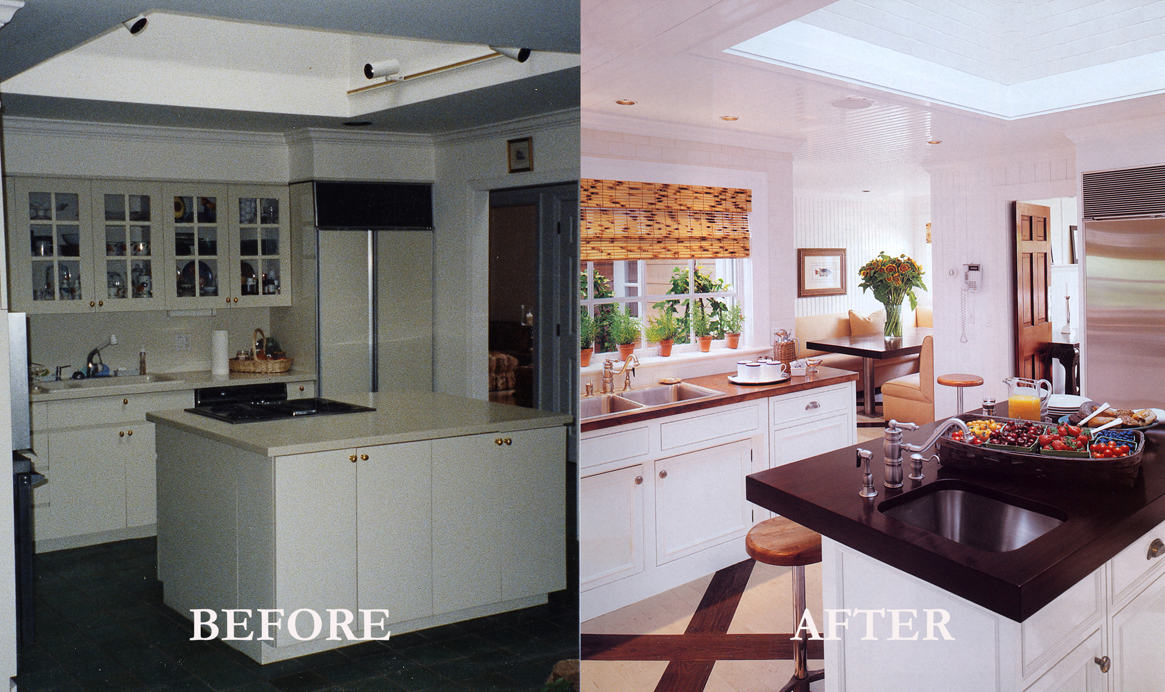 Rod Winterrowd   Before and After   Southampton, NY   Kitchen