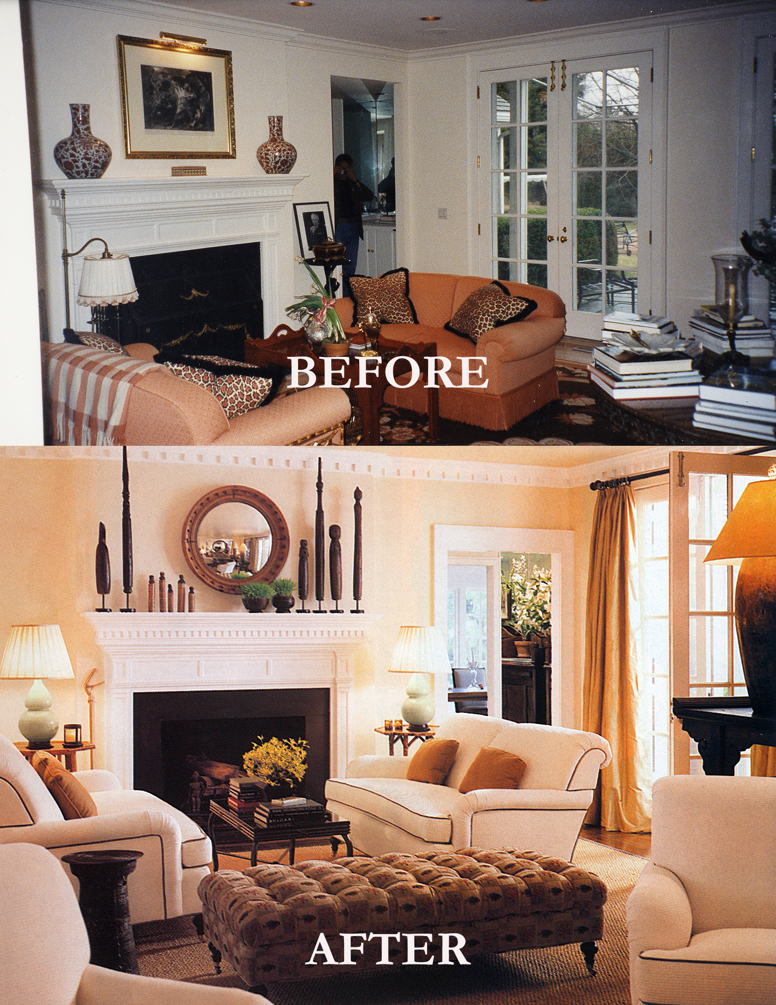 Rod Winterrowd   Before and After   Southampton, NY   Living Room
