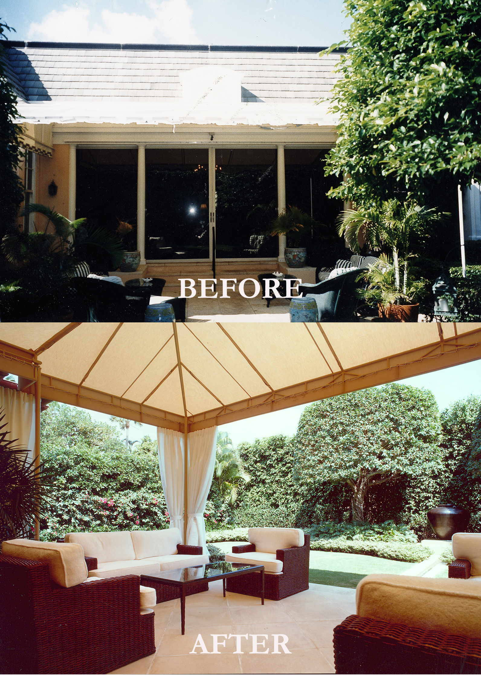 Rod Winterrowd | Before and After | Palm Beach, FL | Patio