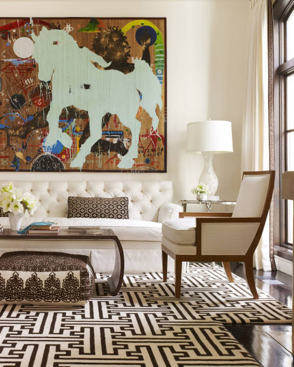 Rod Winterrowd   Private Residence, Dallas, TX   Living Room