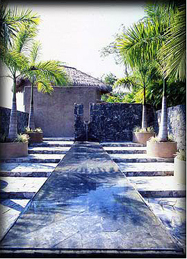 Rod Winterrowd | Private Residence, Mexican Riviera | Outdoor Entrance