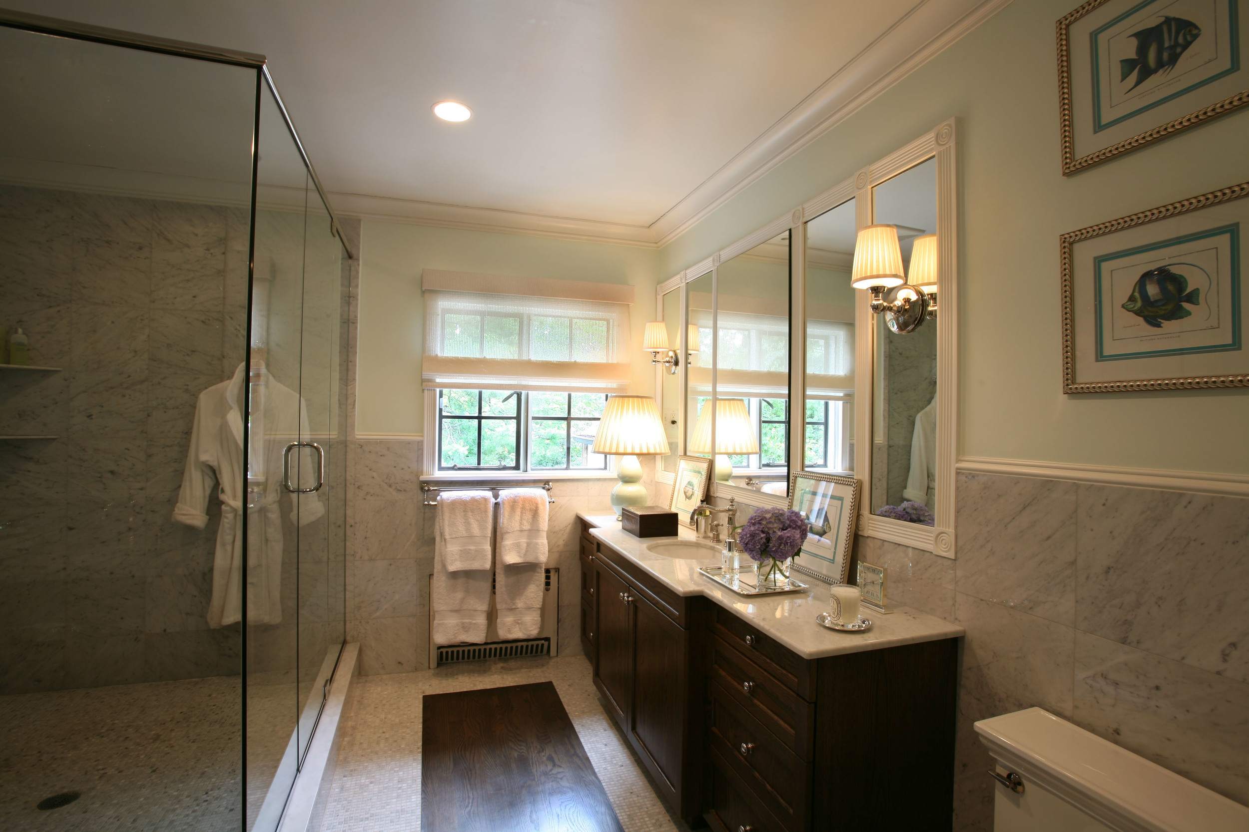 Rod Winterrowd | 19th Century Tudor Renovation, Bronxville, NY | Master Bath