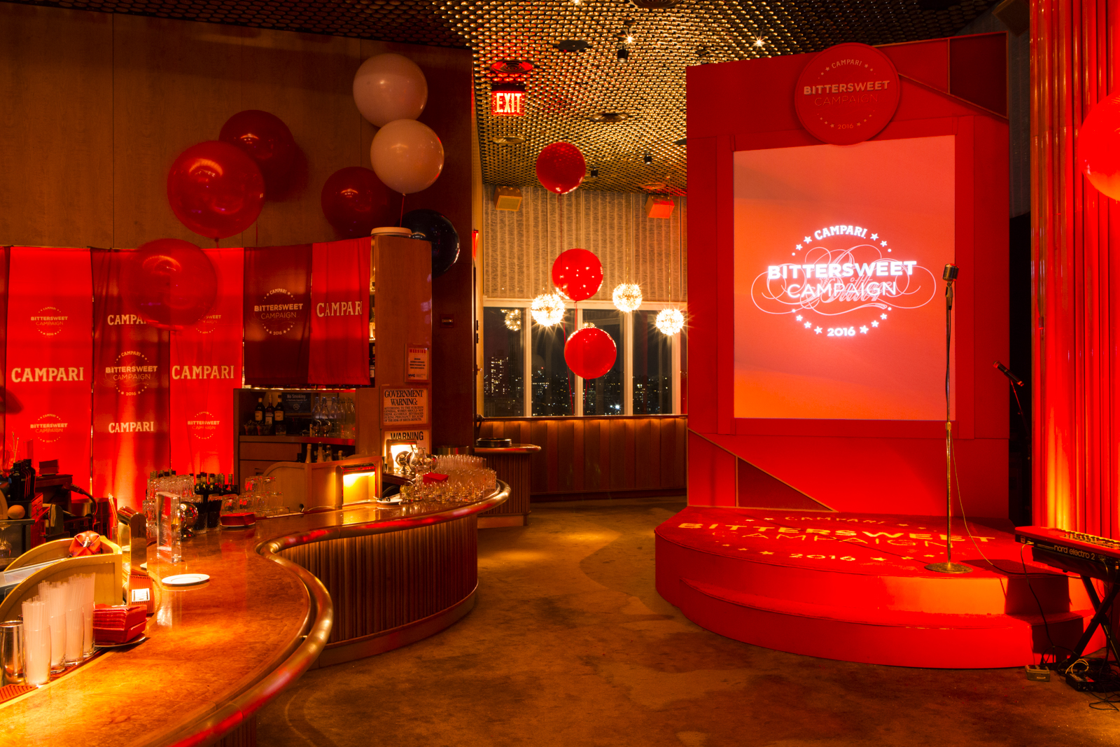 Campari Calendar 2016 Launch, The Standard Highline New York